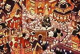 NNNGTAOCER Puzzle da 1500 Pezzi per Adulti Puzzle di per Bambini DIY Vivace Città di Yeti Giochi Educativi Brain Challenge Puzzle per Bambini Bambini 87X57Cm