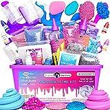 Original Stationery Kit di unicorno Slime fornisce cose per ragazze che fanno melma [tutto in una scatola] I bambini possono fare unicorno, glitter, nuvola...