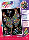 Sequin Art Red, Butterfly, Sparkling Arts and Crafts Picture Kit; Creative Crafts for Adults and Kids