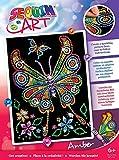 Art Sequin - KAD1209 - Peinture Au Numéro - Motif Le papillon - 25 x 34 Cm -...
