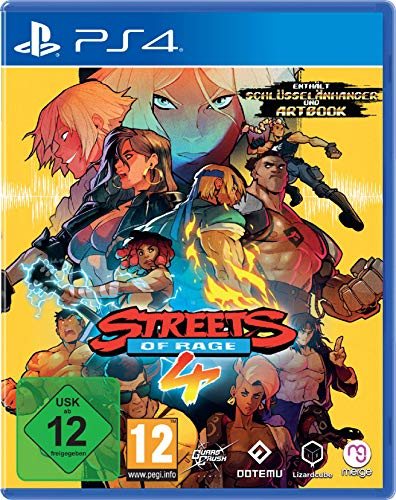 Streets of Rage 4 - [PlayStation 4]