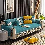 Funda de sofá de Esquina,Fundas de Asiento de sofá de Tela para Sala de...