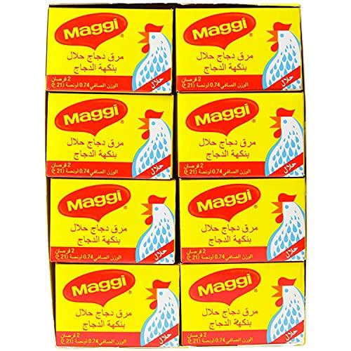 Maggi pollo coullion Halal, 24Count