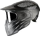 JT Premise Headshield Paintball Goggle Single Pane & Clear LensBlackOne Size