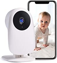 Nooie Baby Monitor with Camera and Audio 1080P Night Vision Motion andSoundDetection..