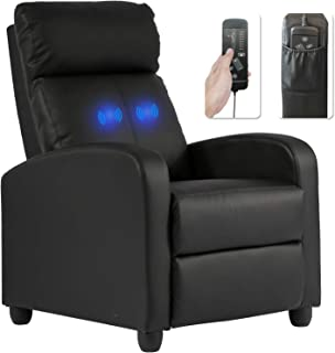 Recliner Chair for Living Room Massage Recliner Sofa Reading Chair Winback Single Sofa..