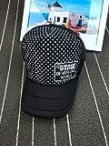 Sombrero de Camionero de Malla de Moda Sombrero de camión Sombrero de Hombre y Mujer Sombrero de Sol de Verano al Aire Libre Gorra de celosía pequeña de Tendencia Coreana