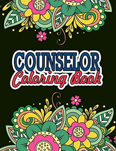 Counselor Coloring Book: Counselor Appreciation Gifts |...