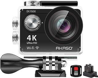 AKASO EK7000 4K WiFi Sports Action Camera Ultra HD Waterproof DV Camcorder 12MP 170..
