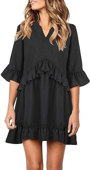 cute black ruffle dress beautiful dresses
