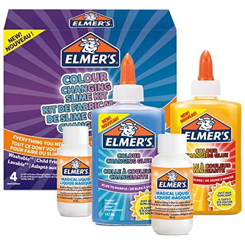 Elmer's Kit Slime Con colores Cambiantes que cambia de col