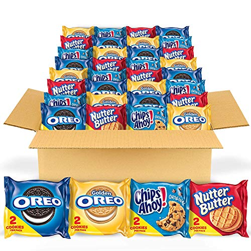 OREO Original, OREO Golden, CHIPS AHOY! & Nutter Butter...