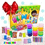 DIY Slime Kit Set para Niñas Niños, Activador Slime para Hacer Kit Slime, Cola para Slime - Fabrica de Slime - El Mejor Kit Slime Factory con que Brilla Oscuridad Bolas – 18 x Caja Sorpresa de Slime