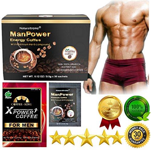 PureGano ManPower Natural Male Enhancement Energy Instant...