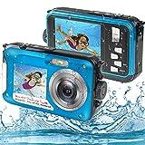 Appareil Photo Etanche Numérique, Camera sous Marine Full HD 2.7K 48MP Camera...