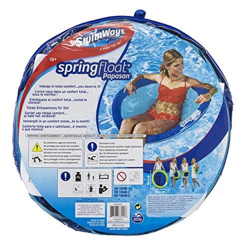 SwimWays 6045229 - Spring Float Papasan, Wasserhängematte, farblich sortiert