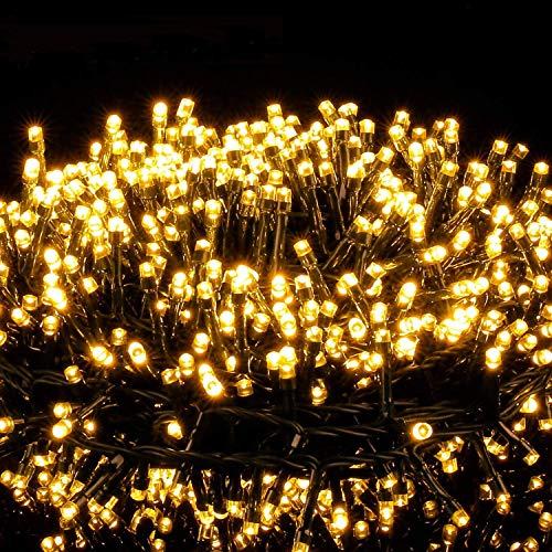 Avoalre Luci di Natale 2000 LEDs 50M, Catena Luminosa 8 Modalit Impermeabile IP44 Luci Albero di Natale Decorative per Interno Esterno Natale Atmosfera Romantica Camera Festa Nozze, Bianco Caldo