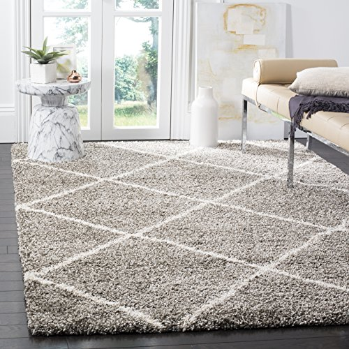 Safavieh Hudson Shag Collection SGH281B Diamond Trellis 2-inch...