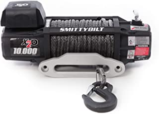 Smittybilt X2O COMP – Waterproof Synthetic Rope Winch – 10,000 lb. Load Capacity