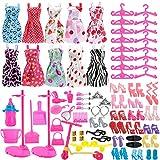 Asiv 110 Pcs Accessoires pour Poupées 11,5 Pouces, 10 Mini Jupe Vêtements...