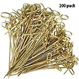Bambou brochettes en bambou de style 200pièces Japaneses noués...
