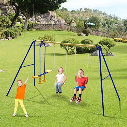 Costzon Kids Swing Set