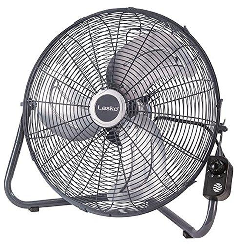 Lasko 20' Floor or Wallmount High velocity fan, Grey H20610