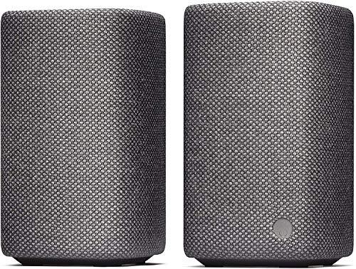 Cambridge Audio YOYO (M) Tragbare Stereo-Bluetooth-Lautsprecher (Dunkelgrau)