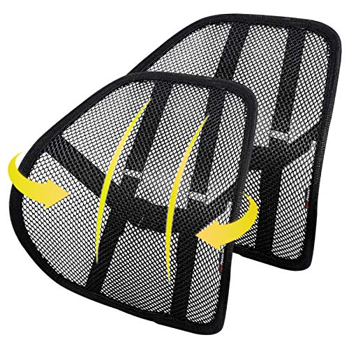 Product Image 1: Lumbar Support (2 Pack) with Breathable Mesh, Suit for Car, Office Chiar