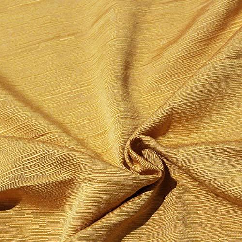 Copridivano Fiocco Lacci 2 3 4 Posti Cotone Tinta Unita Salva Divano Vari Colori (Oro Ottoman, 2 posti)