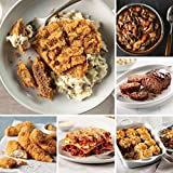 Easy Meals Sampler from Omaha Steaks (Chicken Fried Steaks, Italian Chicken Fingers, Meat Lover's Lasagna, Homestyle Meatloaf, Beef Shepherd's Pie, Slow Cooker Meal: Beef Bourguignon, and more)