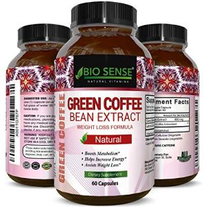 Pure Green Coffee Bean Extract and Standardized to 50% Chlorogenic Acid with Weight Loss Supplement for Men and Women, Burns Both Fat and Sugar with High Grade Natural Ingredients 1 - My Weight Loss Today