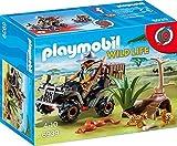 Playmobil- Braconnier avec Quad