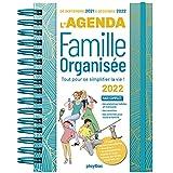AGENDA DE LA FAMILLE ORGANISÉE 2022 - 16 MOIS - (DE SEPT. 2021 À DÉC. 2022):...