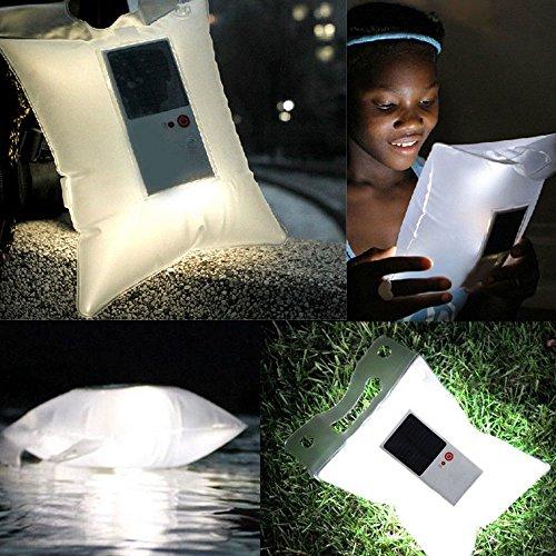 Énergie solaire lampe gonflable voyage lanterne lumineuse survie...