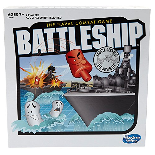 Battleship With Planes Strategy Board Game For Ages 7 and Up (Amazon Exclus...