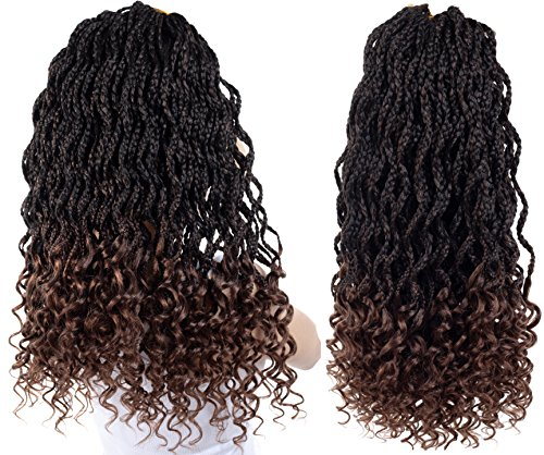 Goddess Box Braids Crochet Hair Faux Locs Braids...