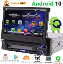 Single Din Radio Android Touch Screen 1 Din Car Stereo Bluetooth GPS Navigation System..