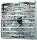 Iliving - 36' Wall Mounted Shutter Exhaust Fan - Automatic Shutter - Single Speed - Vent Fan For...