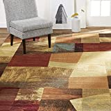 Home Dynamix Catalina Bismark Contemporary Geometric Abstract Area Rug
