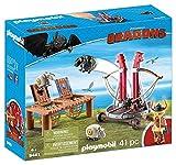 Playmobil - Gueulfor avec baliste lance-mouton - 9461