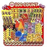 Mexican Candy Mix Assortment, Dulces mexicanos, Exotic snacks, Includes Lucas tamarind, Vero mango, Duvalin, Mazapan, Pelon pelo rico, Tamarindo candies, Foreign unique lollipops, Mexican candy box
