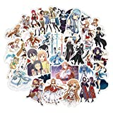 Anime Stickers For Furniture Wall Desk DIY Chair Toy Car Trunk TV Guitar Motorcycle Etc50Pcs/Pack