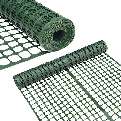 Abba Patio Snow Fence Plastic Garden Fencing Roll Temporary Safety...