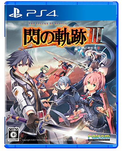 Falcom Eiyuu Densetsu Sen no Kiseki III SONY PS4 PLAYSTATION 4 JAPANESE VERSION