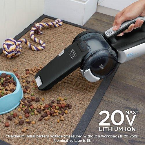 Product Image 10: BLACK+DECKER 20V Max Handheld Vacuum, Cordless, Grey (BDH2000PL)