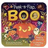 Boo: Peek-a-Flap Board Book