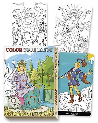 Color Your Tarot Deck
