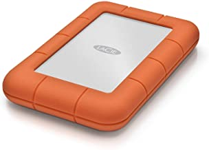 LaCie LAC9000298 Rugged Mini 2TB External Hard Drive Portable HDD – USB 3.0 USB 2.0..