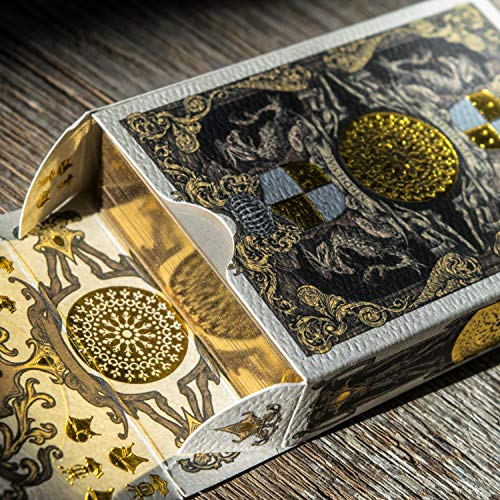 Medieval Royal Playing Cards with Unique Seal and Free Card...